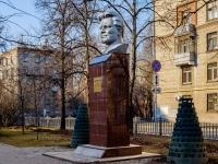Бутырский район, улица Добролюбова. памятник С.М. Кирову
