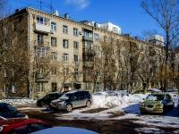 Бутырский район, улица Фонвизина, дом 4. многоквартирный дом