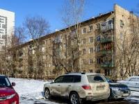 Бутырский район, улица Фонвизина, дом 10. многоквартирный дом