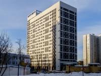 Бутырский район, улица Фонвизина, дом 13. многоквартирный дом