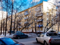 Марьина Роща район, улица 2-я Марьиной Рощи, дом 14Б. многоквартирный дом