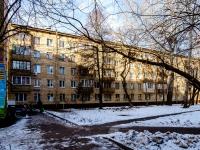 Марьина Роща район, улица Анненская, дом 4. многоквартирный дом