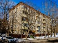 Марьина Роща район, улица Анненская, дом 7 к.1. многоквартирный дом