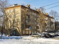 Марьина Роща район, улица Анненская, дом 8. многоквартирный дом