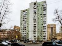 Марьина Роща район, улица Новосущёвская, дом 9. многоквартирный дом