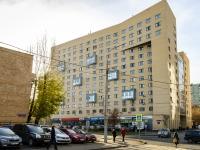 Марьина Роща район, улица Новосущёвская, дом 15. многоквартирный дом