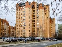 Марьина Роща район, улица Новосущёвская, дом 21. многоквартирный дом