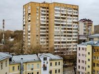 Марьина Роща район, улица Октябрьская, дом 1. многоквартирный дом