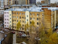Марьина Роща район, улица Октябрьская, дом 4. многоквартирный дом