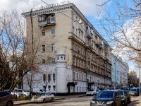 Марьина Роща район, улица Октябрьская, дом 5. многоквартирный дом