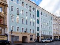 Марьина Роща район, улица Октябрьская, дом 7. многоквартирный дом