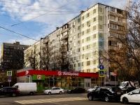 Марьина Роща район, улица Октябрьская, дом 11. многоквартирный дом