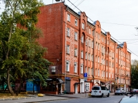 Марьина Роща район, улица Октябрьская, дом 18. многоквартирный дом