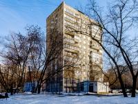 Марьина Роща район, улица Октябрьская, дом 19. многоквартирный дом