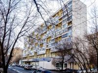 Марьина Роща район, улица Октябрьская, дом 33. многоквартирный дом