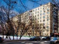 Марьина Роща район, улица Октябрьская, дом 35. многоквартирный дом