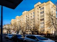 Марьина Роща район, улица Октябрьская, дом 36. многоквартирный дом