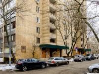 Ростокино район, улица Докукина, дом 5 к.1. многоквартирный дом