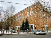 """Ростокино район, улица Сельскохозяйственная, дом 17 к.2. гостиница (отель) """"Турист"""""""