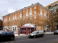 """Ростокино район, улица Сельскохозяйственная, дом 17 к.4. гостиница (отель) """"Турист"""""""