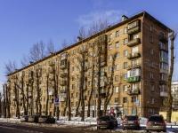 Ростокино район, улица Сергея Эйзенштейна, дом 2. многоквартирный дом