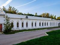 Измайлово район, улица Баумана городок, дом 2 с.5. Комплекс строений Николаевской военной богадельни. Служебный западный корпус