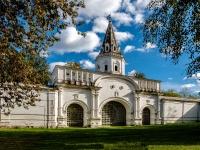 Измайлово район, улица Баумана городок, дом 2 с.6. Комплекс строений Николаевской военной богадельни. Задние ворота