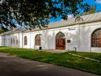 Измайлово район, улица Баумана городок, дом 2 с.9. Комплекс строений Николаевской военной богадельни. Каретный сарай