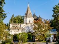 Измайлово район, улица Баумана городок, дом 2 с.14А. Комплекс строений Николаевской военной богадельни. Передние ворота