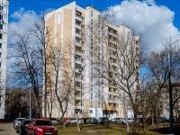 район Люблино, улица Кубанская, дом 12 к.3. многоквартирный дом