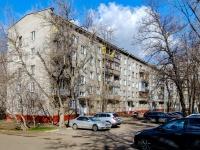 район Люблино, улица Кубанская, дом 14 с.2. многоквартирный дом
