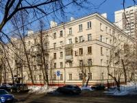 район Люблино, улица Кубанская, дом 25. многоквартирный дом