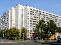 Люблино район, улица Судакова, дом 11. многоквартирный дом