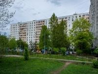 Люблино район, улица Белореченская, дом 5. многоквартирный дом