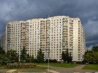 район Люблино, улица Белореченская, дом 12. многоквартирный дом