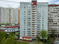 Люблино район, улица Белореченская, дом 13 к.1. многоквартирный дом