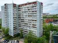 Люблино район, улица Белореченская, дом 13 к.2. многоквартирный дом