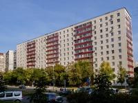 Люблино район, улица Белореченская, дом 19. многоквартирный дом