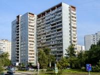 Люблино район, улица Белореченская, дом 25 с.2. многоквартирный дом