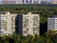 Люблино район, улица Головачёва, дом 1 к.2. многоквартирный дом