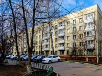 район Люблино, улица Таганрогская, дом 4 с.2. многоквартирный дом