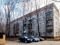 район Люблино, улица Краснодонская, дом 5 с.3. многоквартирный дом