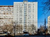 район Люблино, улица Краснодонская, дом 10. многоквартирный дом