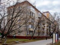 район Люблино, улица Краснодонская, дом 19 к.1. многоквартирный дом