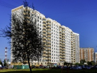 район Люблино, улица Маршала Кожедуба, дом 4. многоквартирный дом