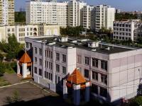 район Люблино, улица Маршала Кожедуба, дом 12 к.2. школа Средняя общеобразовательная школа №2010