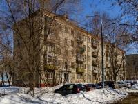 Люблино район, улица Ставропольская, дом 4. многоквартирный дом