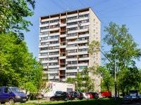 Люблино район, улица Ставропольская, дом 17 к.2. многоквартирный дом