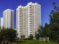 Люблино район, проезд Ставропольский, дом 3. многоквартирный дом