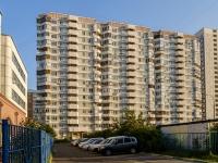 район Марьино, улица Белореченская, дом 28 к.1. многоквартирный дом